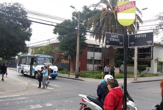 Foto de Indicador de calles, Portus - Santo Domingo, San Felipe