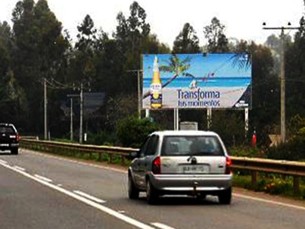 Foto de Ruta F-30 Km 38,8, Maintencillo hacia Santiago