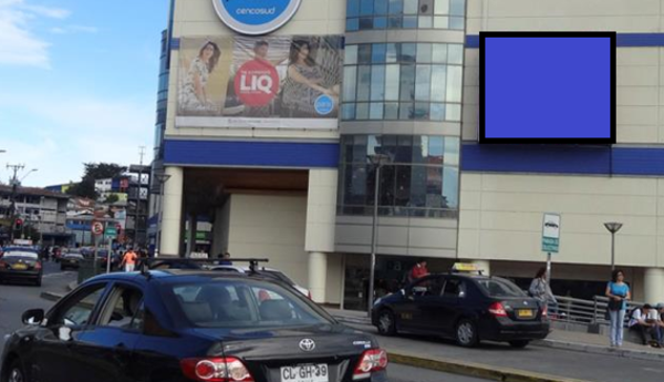 Mall Paseo Costanera, frente Plaza de Armas - Puerto Montt