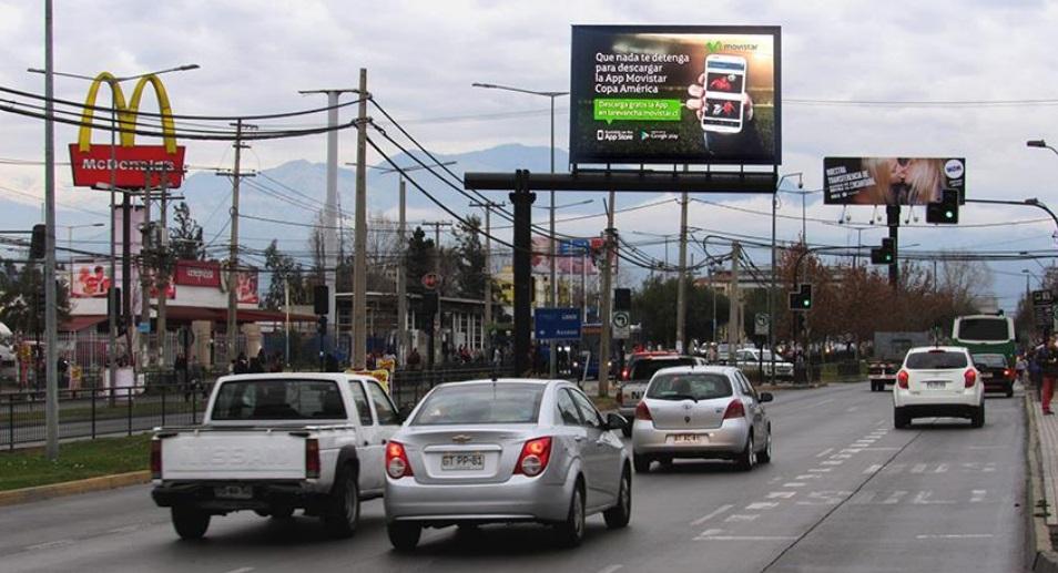 Concha y Toro con Independencia, Puente Alto