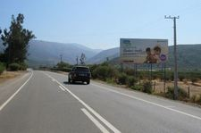 Ruta F20 Nogales, acceso hacia Maintencillo, Cachagua y Zapallar