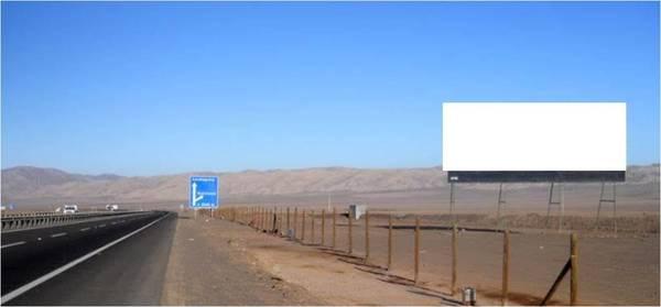 Foto de Ruta 5 Norte, entrada norte de Antofagasta. KM. 1387,500