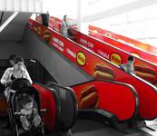 Escaleras Mecánicas HIPER LIDER PLAZA VESPUCIO