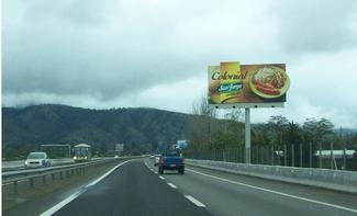 Publicidad en carretera
