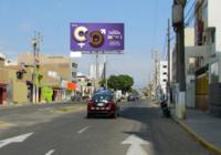 Av. Fátima Berma central (Frente al predio MZ B, Lote 17, Urb. San Luis de California).