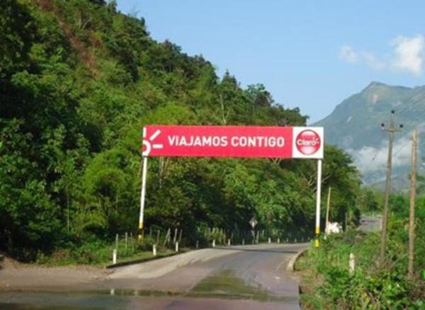 Foto de Carretra Bagua Chica-Aramango entrada al Muyo