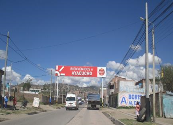 Foto de Ayacucho – Huamanga – Av. 9 de Diciembre, última cuadra barrio Santa Elena