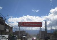 Ayacucho – Huamanga – Av. 9 de Diciembre, última cuadra barrio Santa Elena