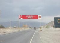Nazca, Salida ciudad de Nasca