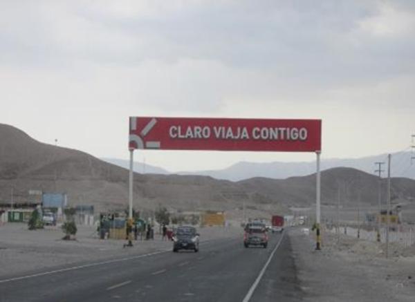 Foto de Nazca, Salida ciudad de Nasca
