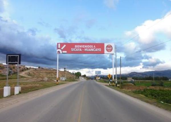 Foto de Av. Las Americas entrada al distrito de Sicaya