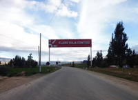 Av. Las Americas entrada al distrito de Sicaya