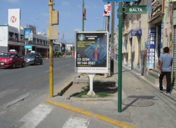 Foto de Av. Bolognesi con Balta berma Derecha