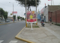 Av. Salaverry con Moras berma Derecha