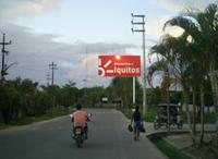 Carretera Iquitos - Nauta altura entrada a la ciudad - Nauta