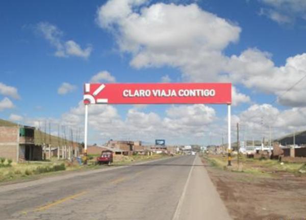 Foto de Juliaca – San Román – Salida a Arequipa km 1.