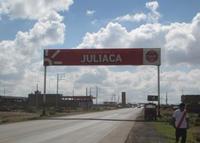 Juliaca – San Román – Salida a Arequipa km 1.