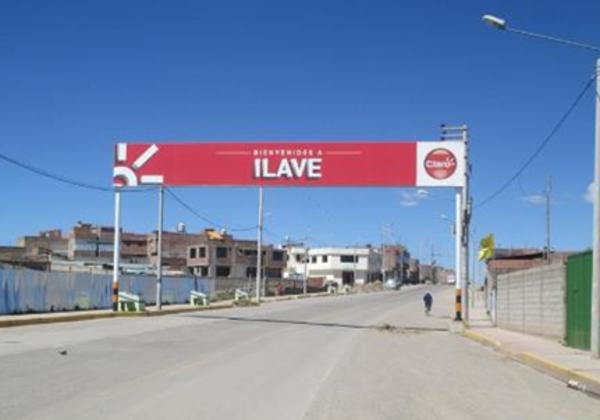 Foto de Ilave – Entrada a la ciudad Av. Panamericana