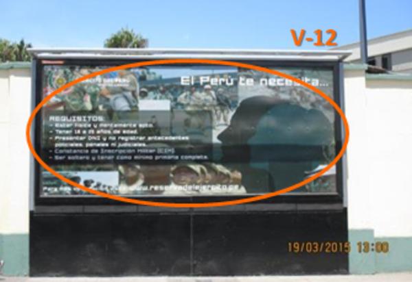 Foto de Hospital Militar Brasil esq. con Pershing-V12