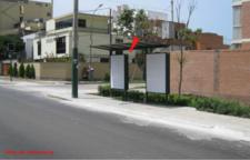 AV.  SAN MARTIN  / ALTURA DE LA MUNICIPALIDAD DE BARRANCO FRENTE A LA IGLESIA
