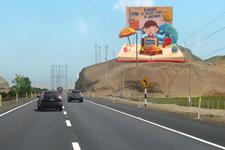 Panel - Carretera Panamericana Sur Km. 68.50 / 2 Caras