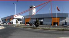 Aeropuerto Arequipa - Vinil en Vitral - Hall Principal