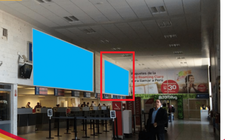 Aeropuerto de Arequipa - Caja de Luz - Hall Principal Check-In