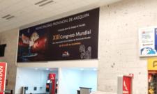 Aeropuerto de Arequipa - Panel - Hall Principal Check-In