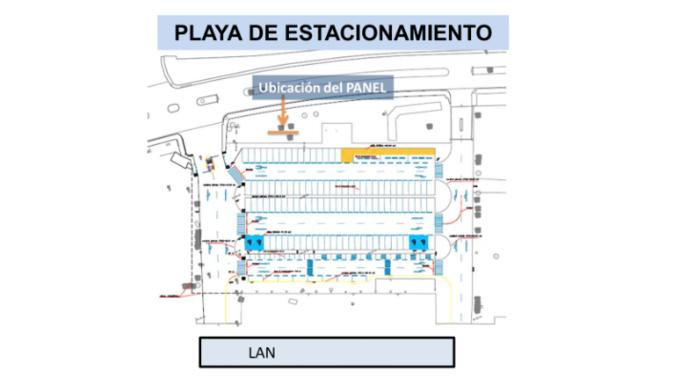 Foto de Aeropuerto de Ayacucho - Panel - Estacionamiento