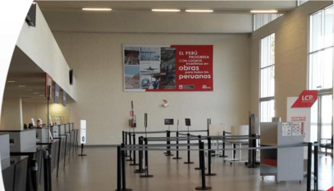 Foto de Aeropuerto de Ayacucho - Panel Simple - Hall Principal