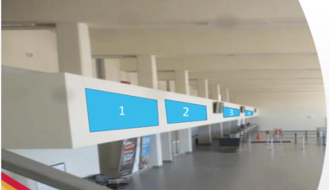 Foto de Aeropuerto de Ayacucho - 4 Viniles - Hall Principal