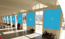Aeropuerto de Ayacucho - 7 Paneles - Hall Principal