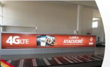 Aeropuerto de Ayacucho - Caja de Luz - Sala de Llegadas