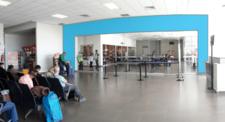 Aeropuerto de Juliaca - Vinil 2 caras- Sala de Embarques