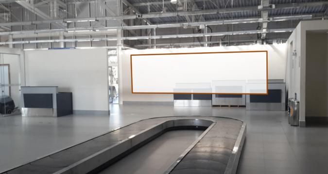 Foto de Aeropuerto de Puerto Maldonado - Panel Simple - Sala de Llegadas