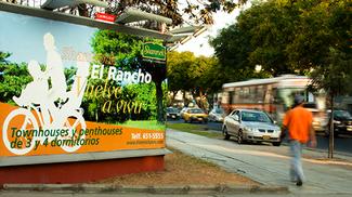 Afiche publicitario