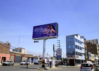 Publicidad en panel digital