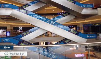 Publicidad en Centro Comercial
