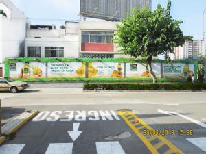 Publicidad en muros